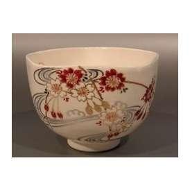 茶碗 色絵 桜