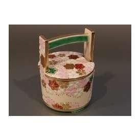 茶器 手桶 仁清 雲錦絵