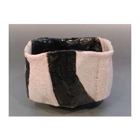 茶道具■茶碗 黒織部