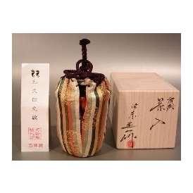 茶入 肩衝  (仕服和久田丸紋西陣織)【 完売 】