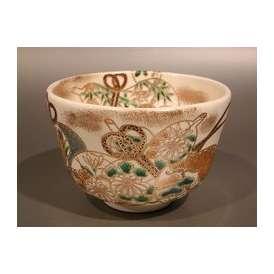 茶道具 抹茶茶碗 六瓢 五節句、京焼 加藤如水作