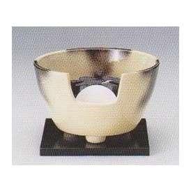 茶道具 遠赤外線 炭型電気ヒーター式 風炉、陶製 紅鉢風炉 雲華 YU-406-3P 強弱切替スイッチ付