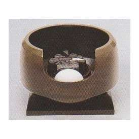 茶道具 遠赤外線 炭型 電熱器【電気・炭手前 両用】、唐銅 面取風炉 YU-503-3P 強弱切替スイッチ付