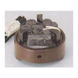 茶道具 遠赤外線 炭型 電熱器、風炉用 電気炭 YU-001-3P 強弱切替スイッチ付