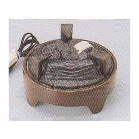 茶道具 遠赤外線 炭型 電熱器、炉用 電気炭 YU-021-3P 強弱切替スイッチ付