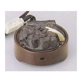 茶道具 遠赤外線 炭型 電熱器、風炉用 五徳なし電気炭 YU-031-3P 強弱切替スイッチ付