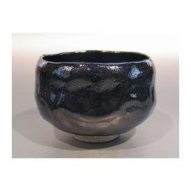 茶道具 黒楽茶碗 (上作) M-6、 佐々木昭楽作(ギフト用)