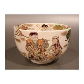 茶道具 抹茶茶碗 仁清 高砂、京焼 文月和香作【ギフト】