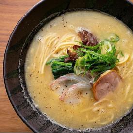 明石鯛ラーメン(白湯スープ)2人前