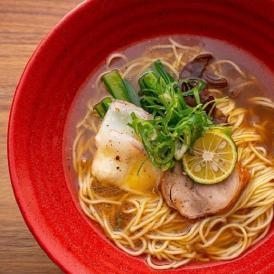 明石鯛ラーメン(醤油スープ)2人前