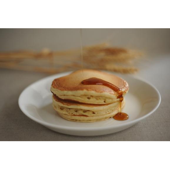「太陽のおやつ - 湘南の麦畑から - 」 太陽のパンケーキ バターミルク 200g (湘南小麦石臼挽き全粒粉使用) 水だけで調理OK!03