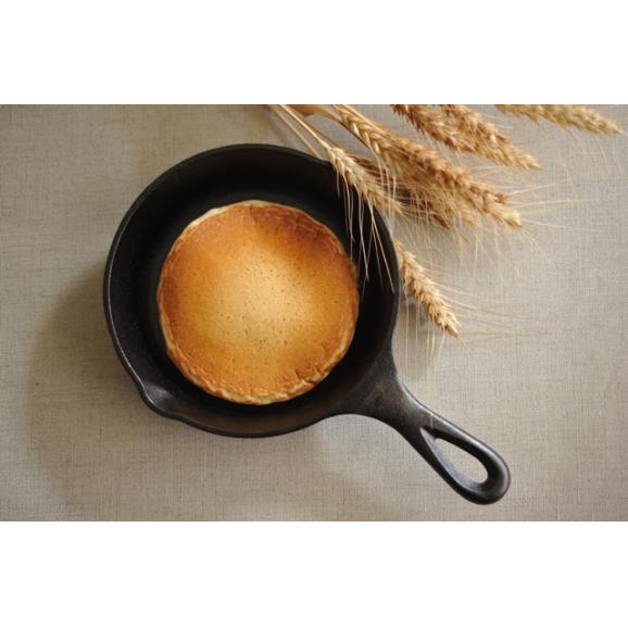 「太陽のおやつ - 湘南の麦畑から - 」 太陽のパンケーキ バターミルク 200g (湘南小麦石臼挽き全粒粉使用) 水だけで調理OK!04