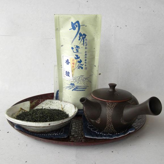 丹沢遠山茶 品種茶 香駿(こうしゅん)04