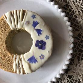 爽やかなレモンバームにホワイトチョコと、オリンピックを記念してJAPAN BLUEをイメージした