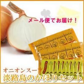 メール便送料無料 淡路島産玉葱を使用したオニオンスープと淡路島産フライドオニオンをセットで!