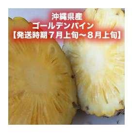沖縄県産ゴールデンパイン 約5kg (4~5玉) 【発送時期7月上旬~8月上旬】