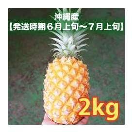 香水パイン2kg (3~4玉) 【発送時期6月上旬~7月上旬】
