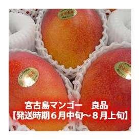 宮古島マンゴー 良品 約2kg(5~8個)【発送時期7月中旬~8月上旬】