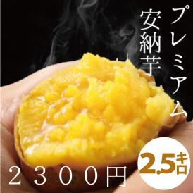 【予約開始】関西TV「よーいドン!」で大絶賛されました!!天然スイーツのようなさつまいも!鹿児島県種子島産 蜜芋(サツマイモ)2.5kg安納芋(あんのういも)は焼き芋に最適なさつまいも