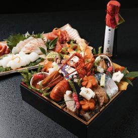 【お造りセットと大人気あさつき醤油付き!】京料理立神の厳選食材贅沢おせち