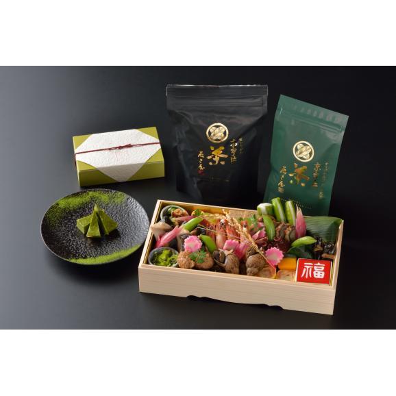 週末おせち FAMILY&お茶+抹茶チーズケーキセット【土日限定】01