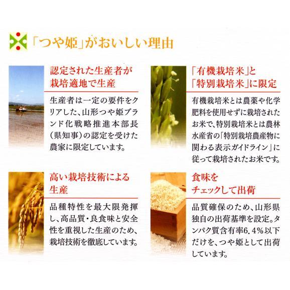 29年産 特A 特別栽培米 山形産 つや姫 10kg (5kg×2袋) 送料無料 玄米 白米 7分づき 5分づき 3分づき お好みに精米します06