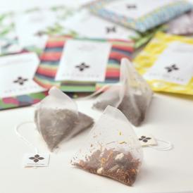 アートオブティーの自慢のアイテム紅茶やハーブティー9種類をアソート。色々試してみたいそんな時は♪