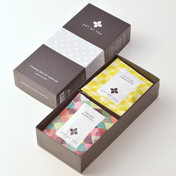 ART OF TEA アソートセット 紅茶・ハーブ【サシェ12袋入り】02