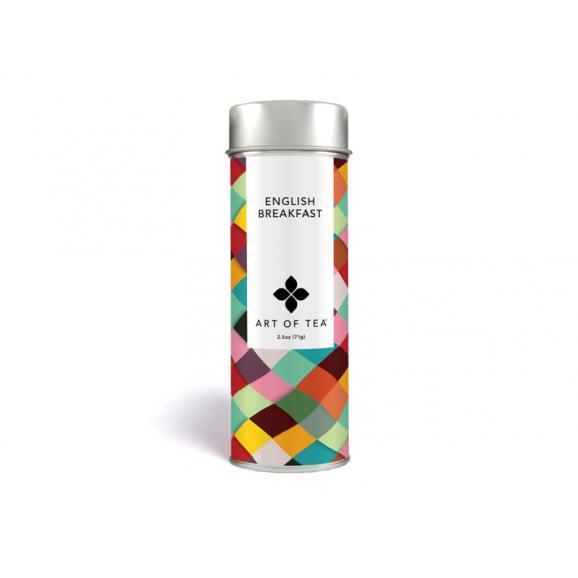 オーガニック イングリッシュブレックファスト リーフ缶 紅茶01
