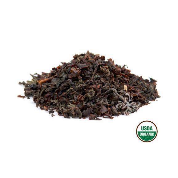 オーガニック イングリッシュブレックファスト リーフ缶 紅茶02