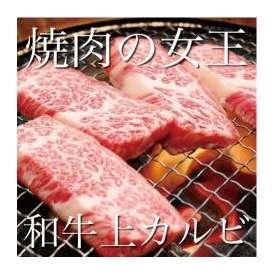 最高級A4/A5黒毛和牛上カルビ【焼き肉用】 500g(2~3人前)【冷凍】