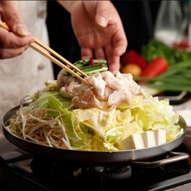 白味噌の豆乳モツ鍋