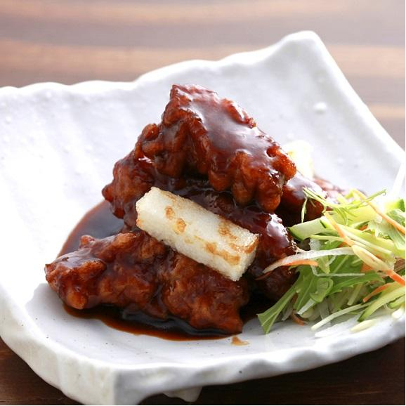 中華の匠 肉団子の黒酢和え01