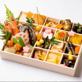 【送料無料】日本料理 徳庵「豊楽」1段重《全27品》《1~2人前》