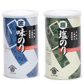 山徳塩のり・味のりギフトセット(2本)