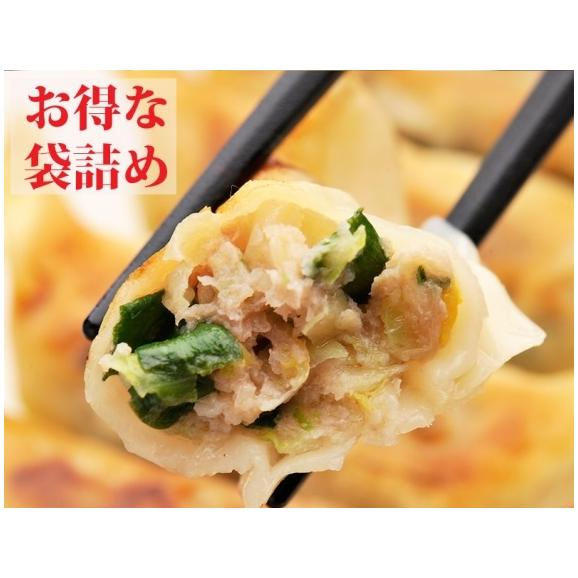 お買い得 東京餃子 ニラ・にんにく入り 袋詰め02