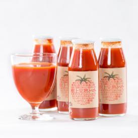 太陽と大地の力を詰め込んだ無添加ストレート完熟トマトジュース