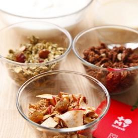 SugarFreeギフトセット(ヘーゼルナッツ&カカオ、抹茶&飛騨スピニッチ、飛騨りんごプレミアム)グルテンフリーミューズリー