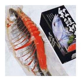 ギフト/紅鮭姿切身(4分割真空)/産直品/札幌冷凍