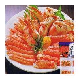 ギフト/かにむき身500g/タラバ/ずわい/札幌冷凍