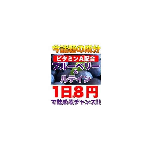 メガ盛り★ブルーベリー&ルテインサプリ約4ヵ月分/サプリ/メール便