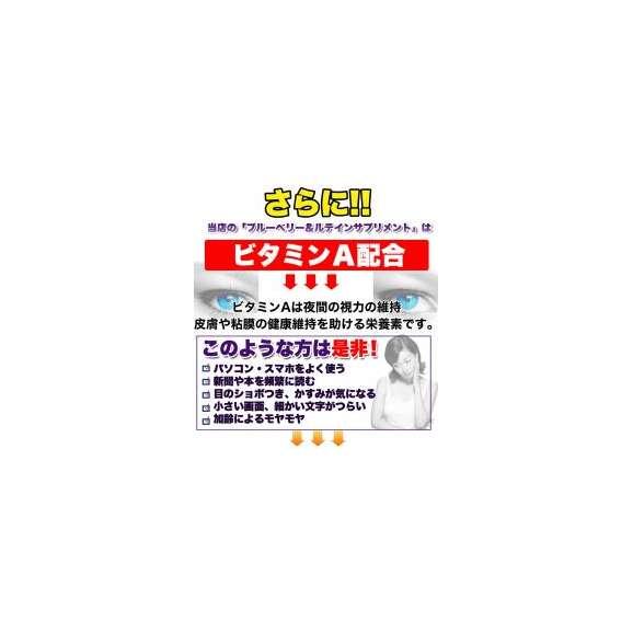 メガ盛り★ブルーベリー&ルテインサプリ約4ヵ月分/サプリ/メール便03