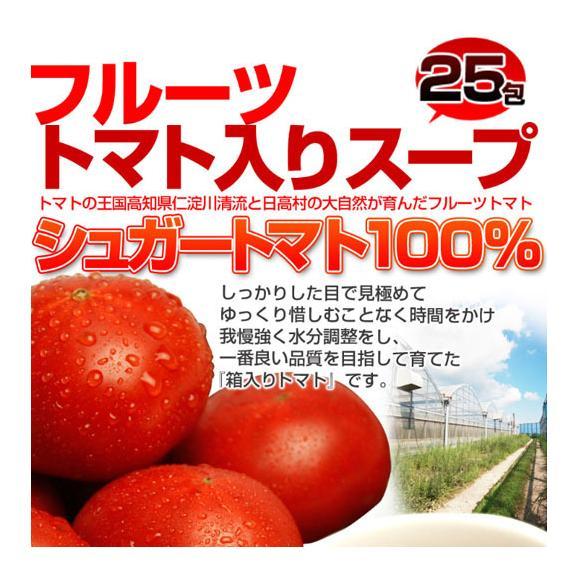 高知県日高村の フルーツ トマト 入り スープ 25包送料無料/ネコポス04