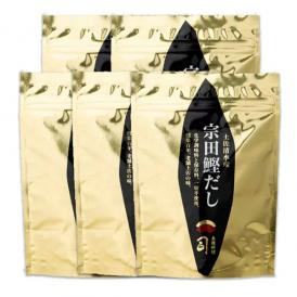 鰹節よりコク深い「宗田鰹」手軽で嬉しい出汁パック