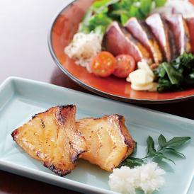 長崎県五島列島産の天然クエと、一本釣り鰹のたたきの贅沢セットです