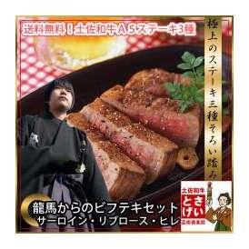 龍馬からのビフテキセット【冷凍】