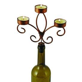 ワインボトル キャンドルホルダー