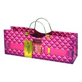 パースワインバッグ ピンク