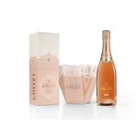 【ギフトBOX入り】シャンパーニュ コレ ロゼ・ドライ・コレクションプリヴェ(Champagne Collet Rose Dry Collection Privee)