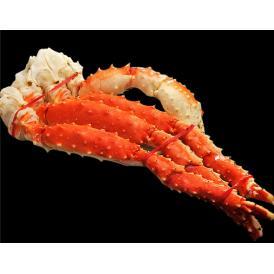 【1肩】 ボイルタラバ蟹 4Lサイズ 総重量800g (解凍後NET600g:約2人前) ロシア産 国内加工※冷凍 送料無料